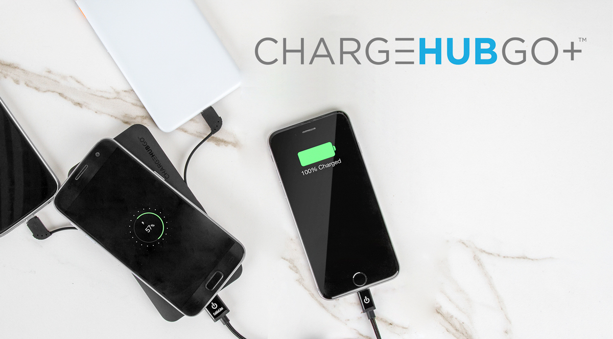 ChargeHubGo | Caricabatteria portatile super veloce