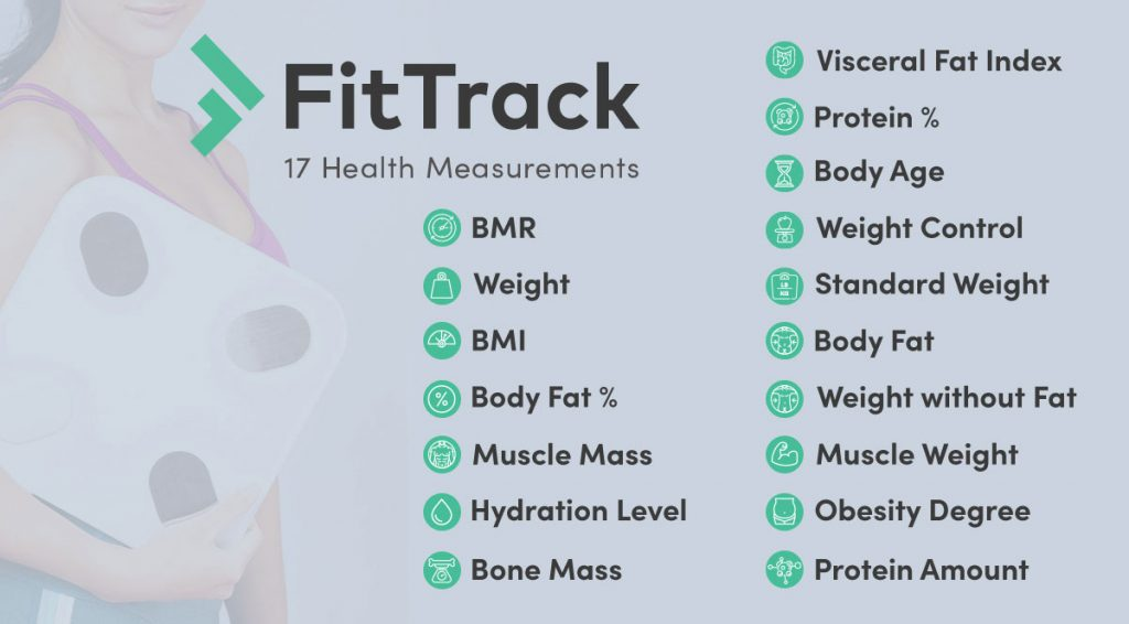Fit Track Bilancia intelligente