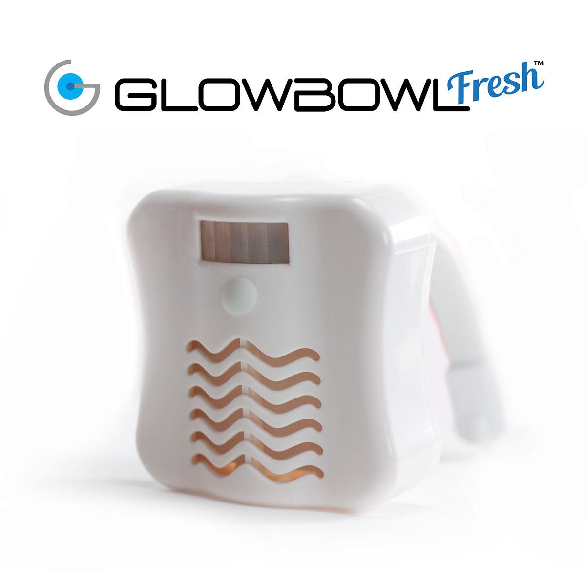 GlowBowl lampada LED bagno