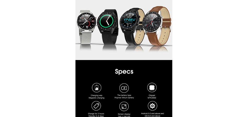 Specifications-of-GX-Smartwatch
