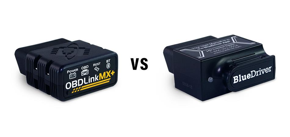 OBDLink MX+ vs BlueDriver