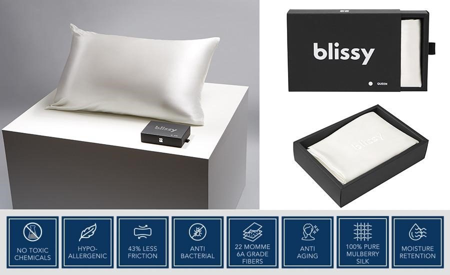 Features of Blissy Silk Pillow Cover