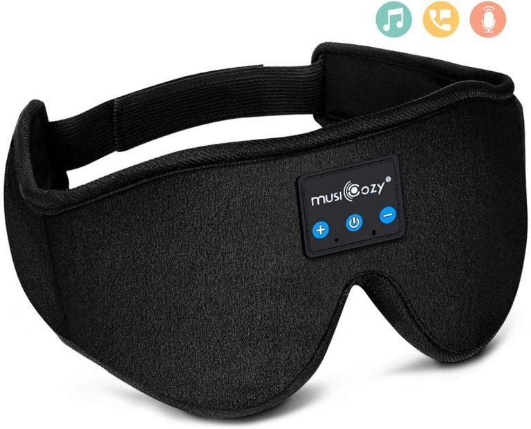 MUSICOZY Sleep Headphones Bluetooth Wireless Sleeping Eye Mask