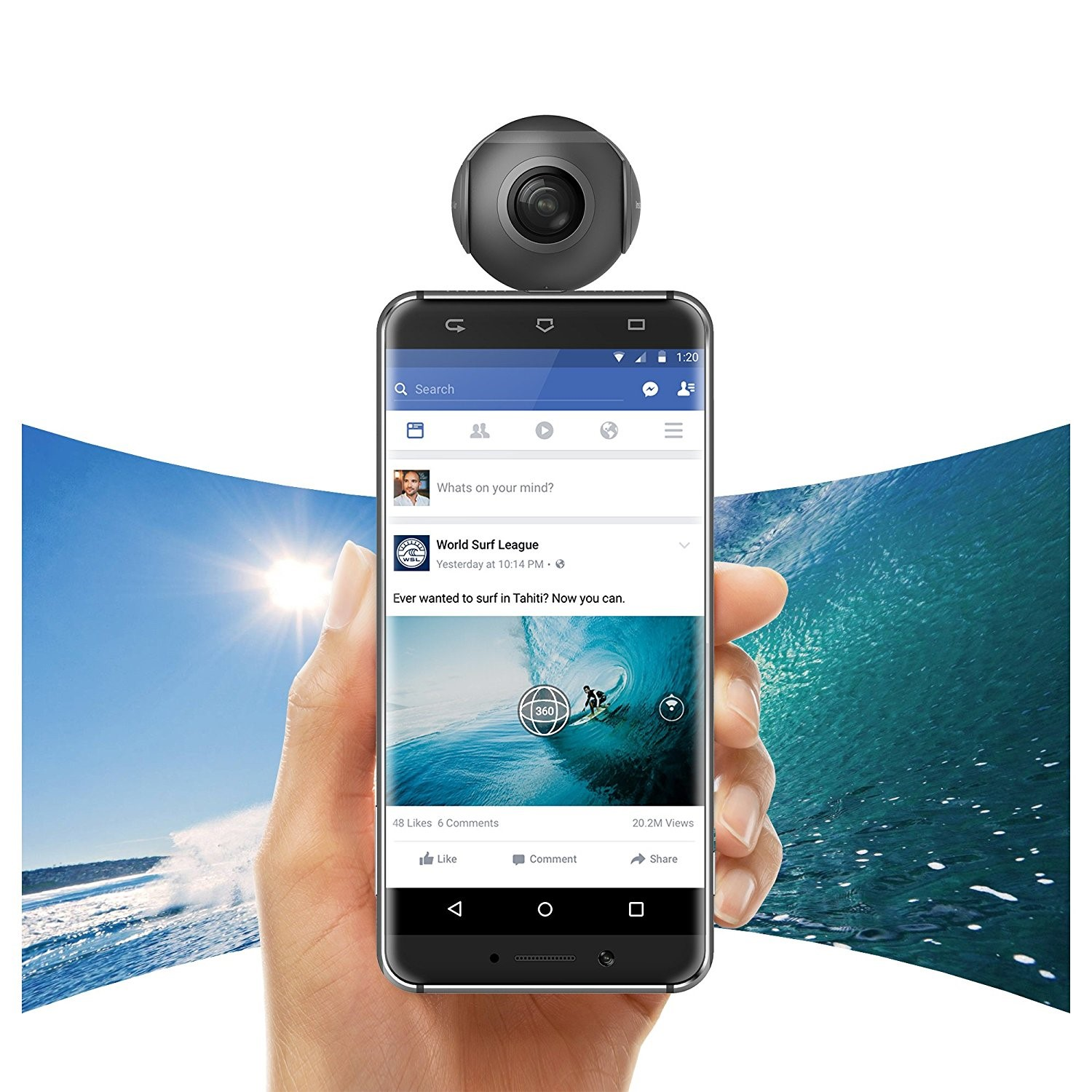 What is Android 360 Camera