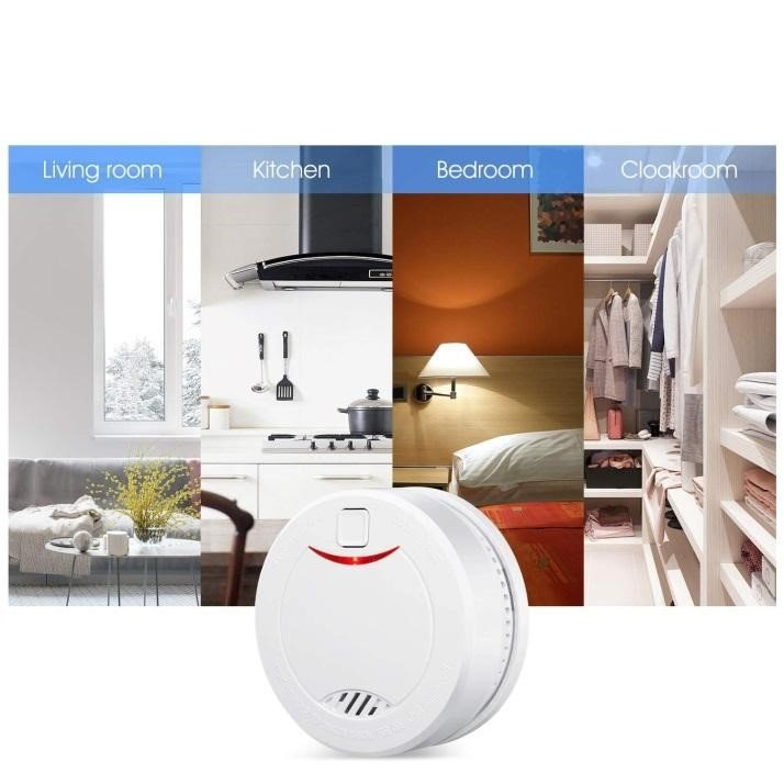 Why do we recommend a smoke detector for every home
