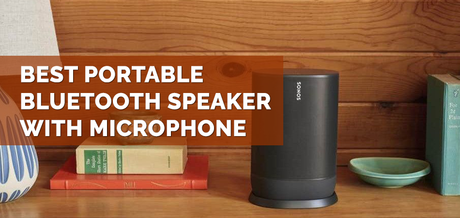 Best Portable Bluetooth Speaker With Microphone