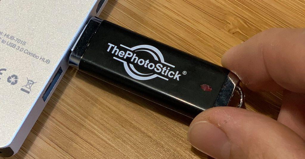 The Photo Stick es más económico y eficiente que otros métodos de respaldo