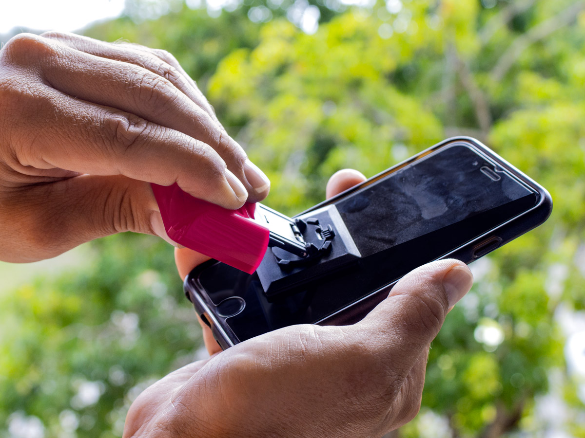 pulir pantalla smartphone