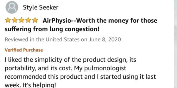 AirPhysio Order Page 8